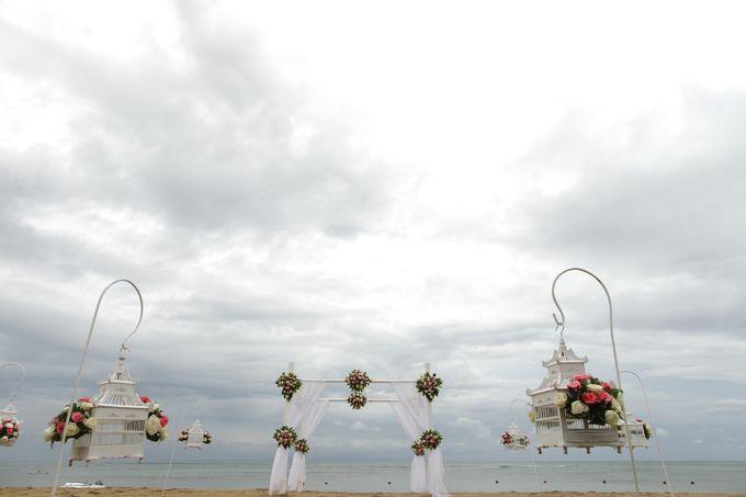 Chloe and Samuel Wedding by Grand Aston Bali Beach Resort - 002