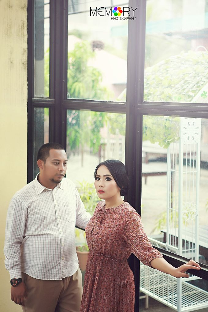 Prewedding Nurul & Panji by MEMORY PHOTOGRAPHY - 002