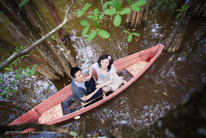 Hendra & Martha - pre wedding by HD Photography - 015
