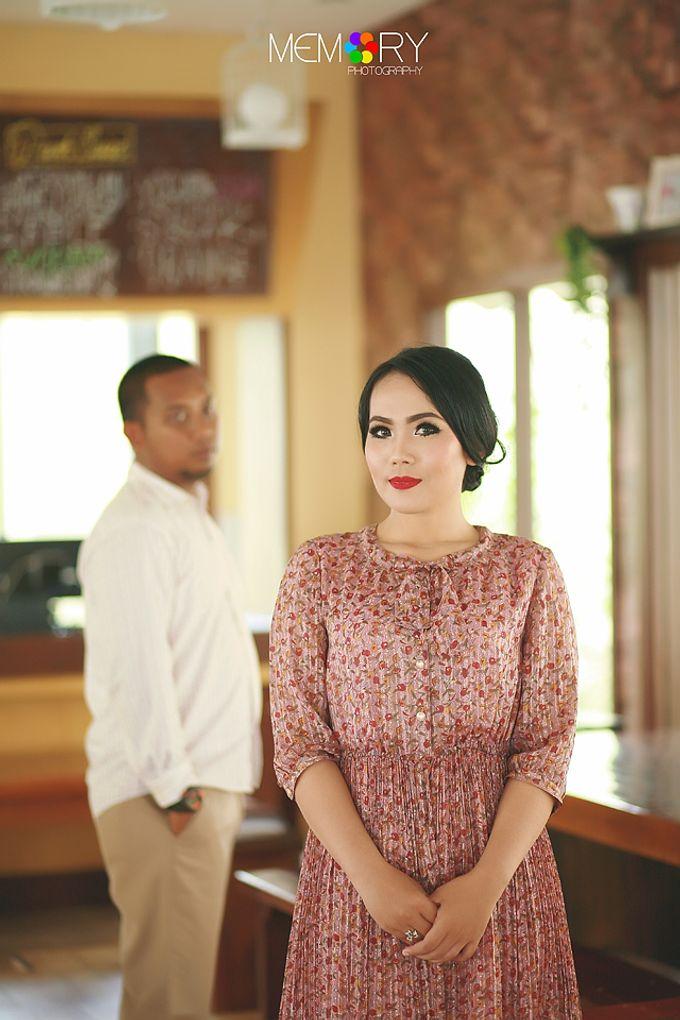 Prewedding Nurul & Panji by MEMORY PHOTOGRAPHY - 004