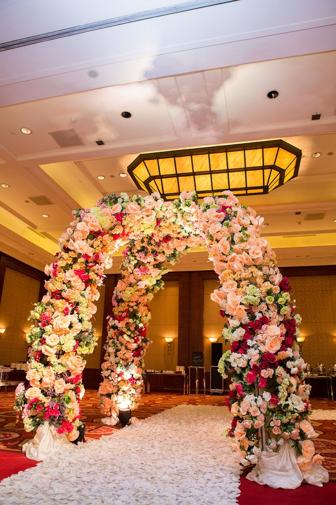The Wedding of Angga & Wei -JW Marriot- by The Swan Decoration - 019