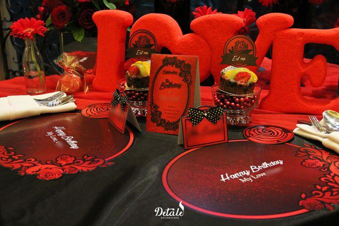 Romantic Table & Room Decoration by JW Marriott Hotel Surabaya - 006