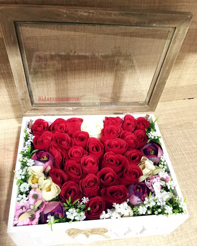 Flower gift and box by Love Flower - 010