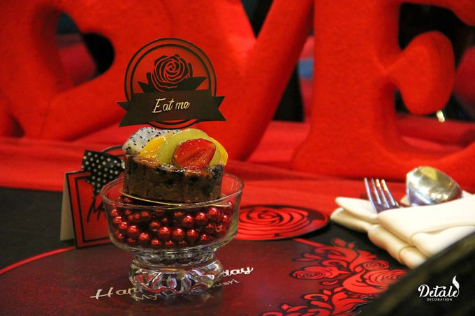 Romantic Table & Room Decoration by JW Marriott Hotel Surabaya - 007