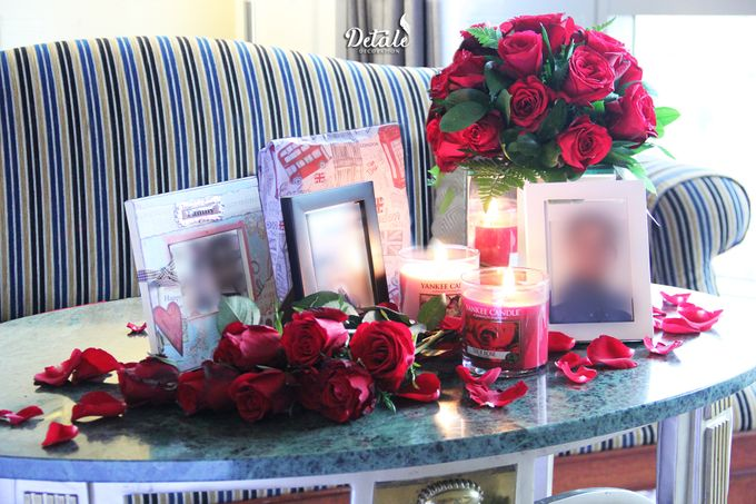 Romantic Table & Room Decoration by JW Marriott Hotel Surabaya - 001