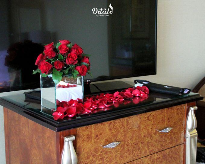 Romantic Table & Room Decoration by JW Marriott Hotel Surabaya - 004
