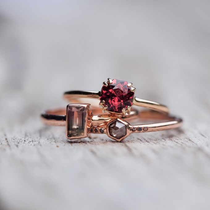 Alternative engagement rings by Gardens of the Sun - 003