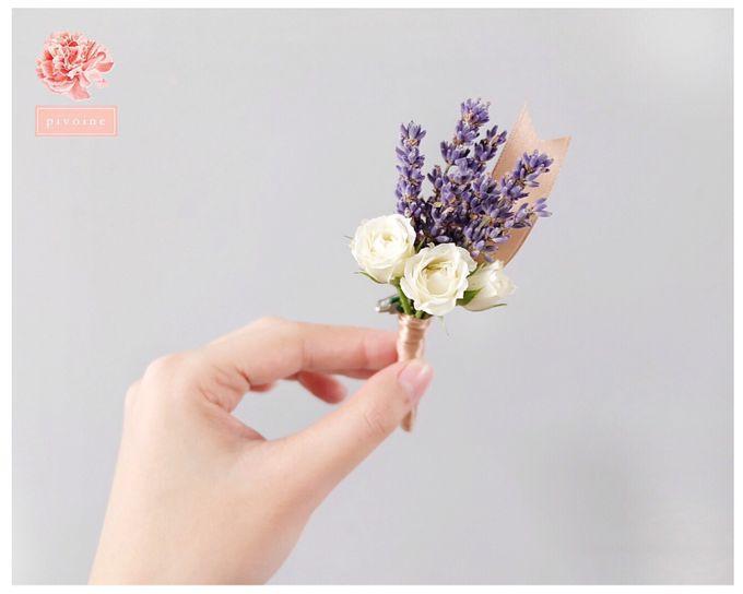 boutonniere by Pivoine Flower Shop - 002