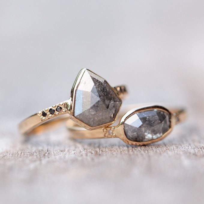 Alternative engagement rings by Gardens of the Sun - 001