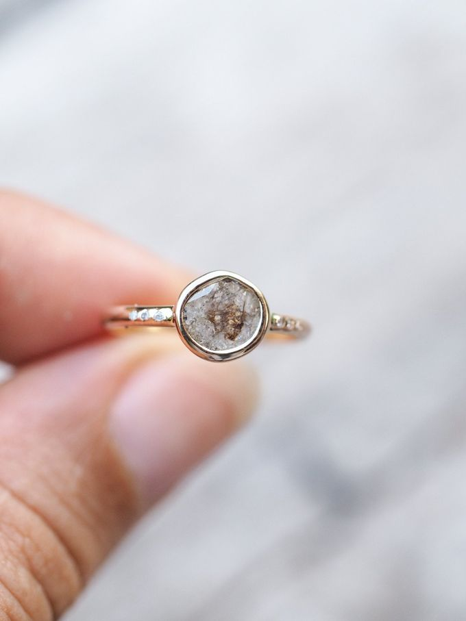Alternative engagement rings by Gardens of the Sun - 010