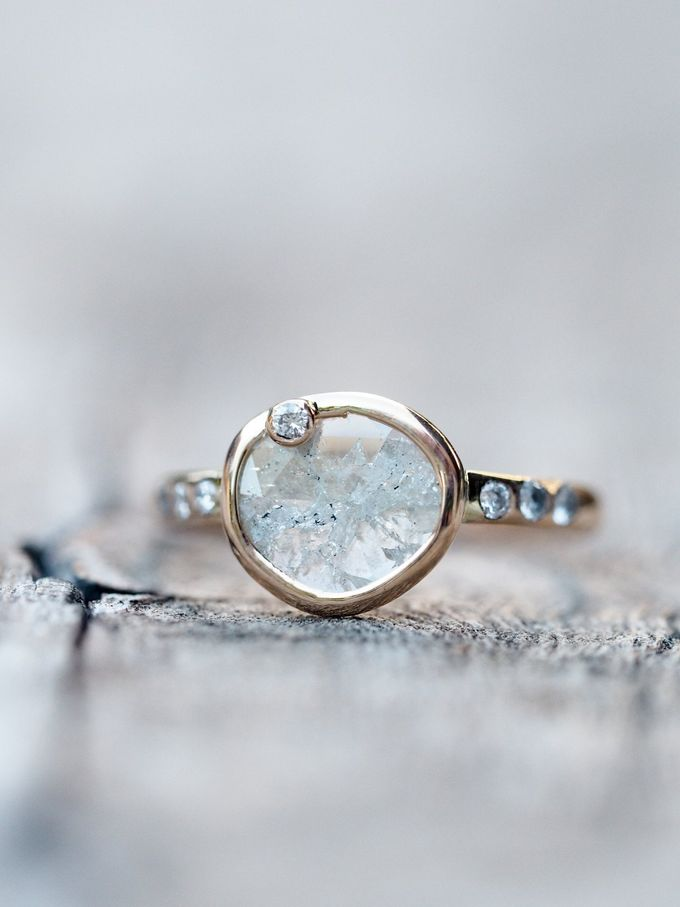 Alternative engagement rings by Gardens of the Sun - 005