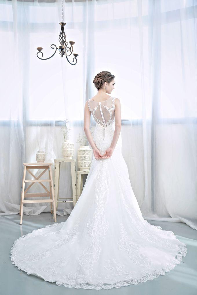 Signature Bridal Gown Range - Romantique by La Belle Couture Weddings Pte Ltd - 010