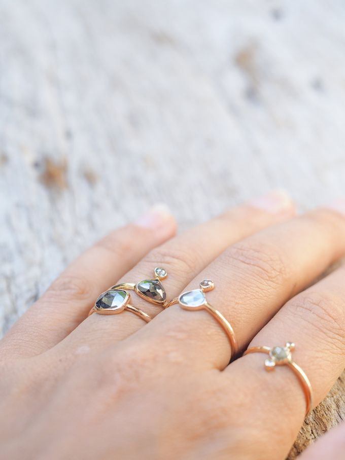 Alternative engagement rings by Gardens of the Sun - 012
