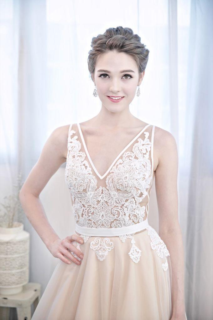 Signature Bridal Gown Range - Romantique by La Belle Couture Weddings Pte Ltd - 012