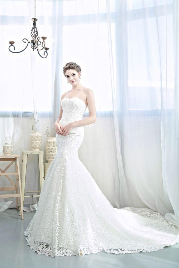 Signature Bridal Gown Range - Romantique by La Belle Couture Weddings Pte Ltd - 014