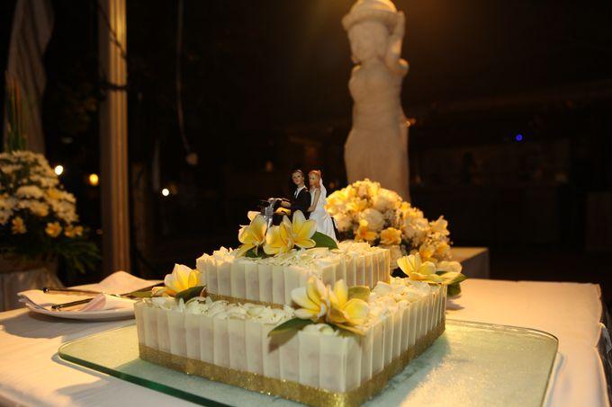 Scott and Misty Wedding by Grand Aston Bali Beach Resort - 004