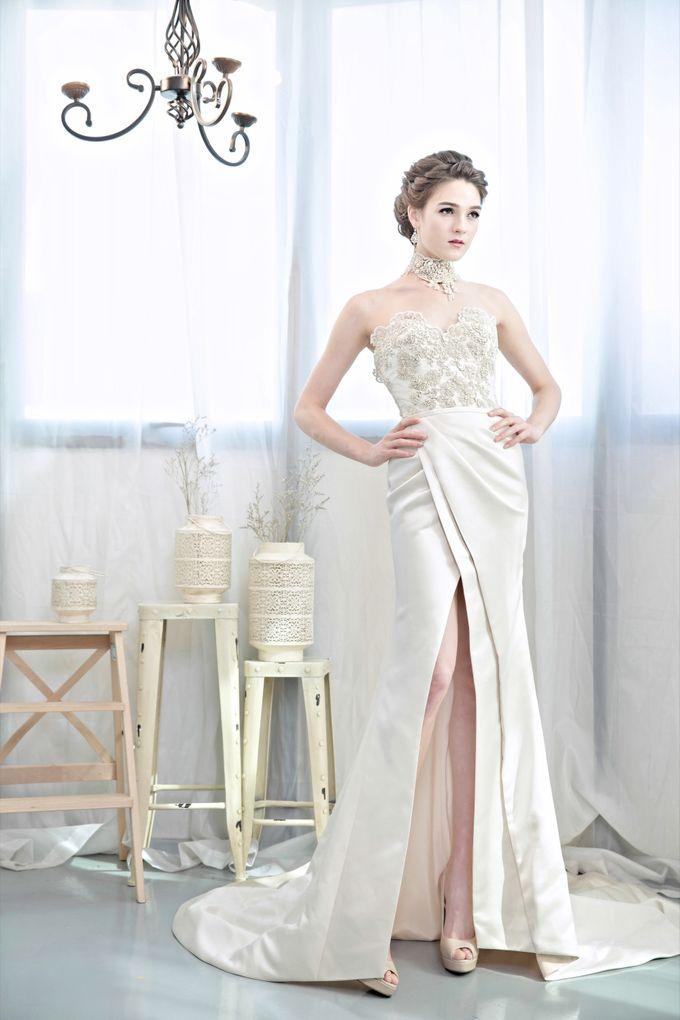 Signature Bridal Gown Range - Romantique by La Belle Couture Weddings Pte Ltd - 019