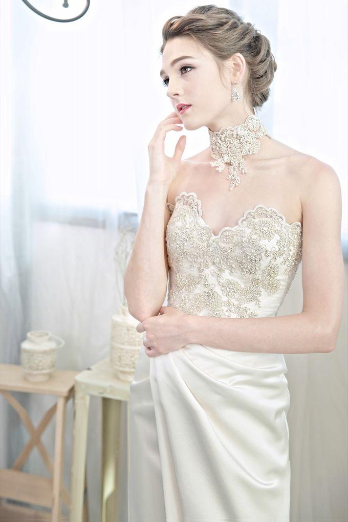 Signature Bridal Gown Range - Romantique by La Belle Couture Weddings Pte Ltd - 020
