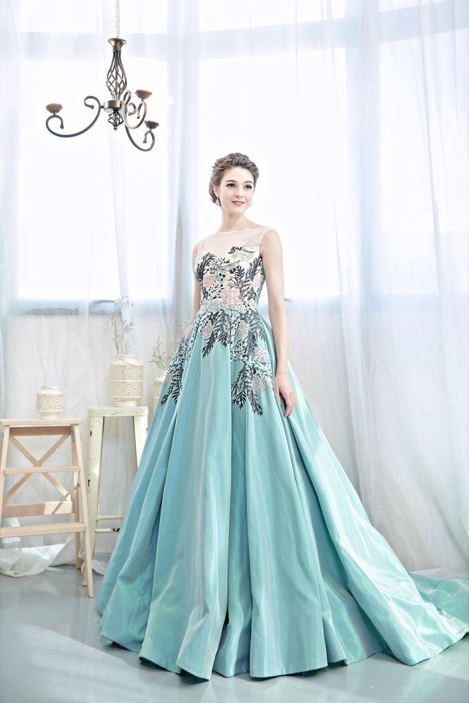 Signature Bridal Gown Range - Romantique by La Belle Couture Weddings Pte Ltd - 021