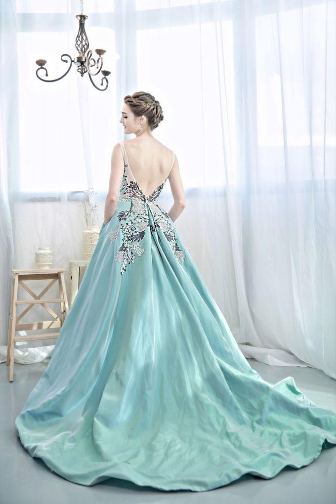 Signature Bridal Gown Range - Romantique by La Belle Couture Weddings Pte Ltd - 022