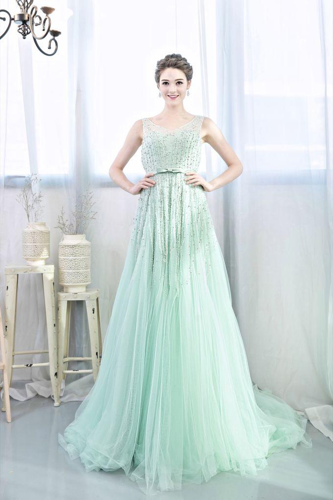 Signature Bridal Gown Range - Romantique by La Belle Couture Weddings Pte Ltd - 023