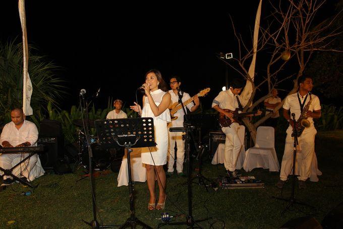 THE STAR BAND at TARA & MARSHEL Wedding by BALI LIVE ENTERTAINMENT - 007