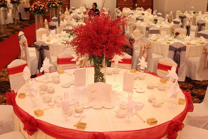 Indoor Wedding by Shangri-La's Tanjung Aru Resort & Spa - 005
