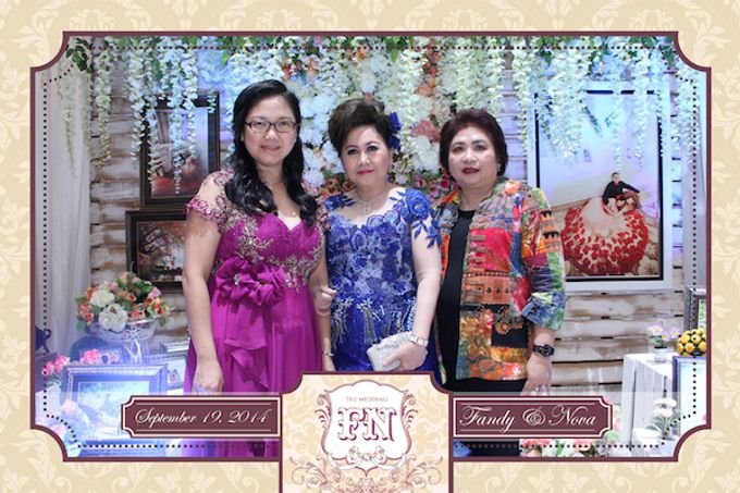 The Wedding of Fandy & Nova by After 5 Photobooth - 001