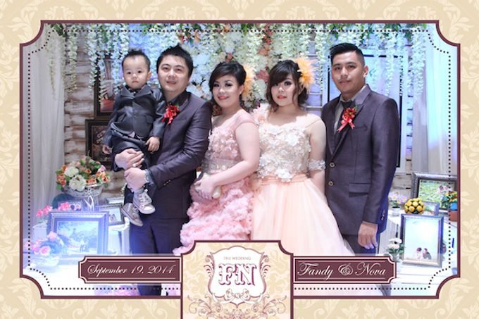 The Wedding of Fandy & Nova by After 5 Photobooth - 002