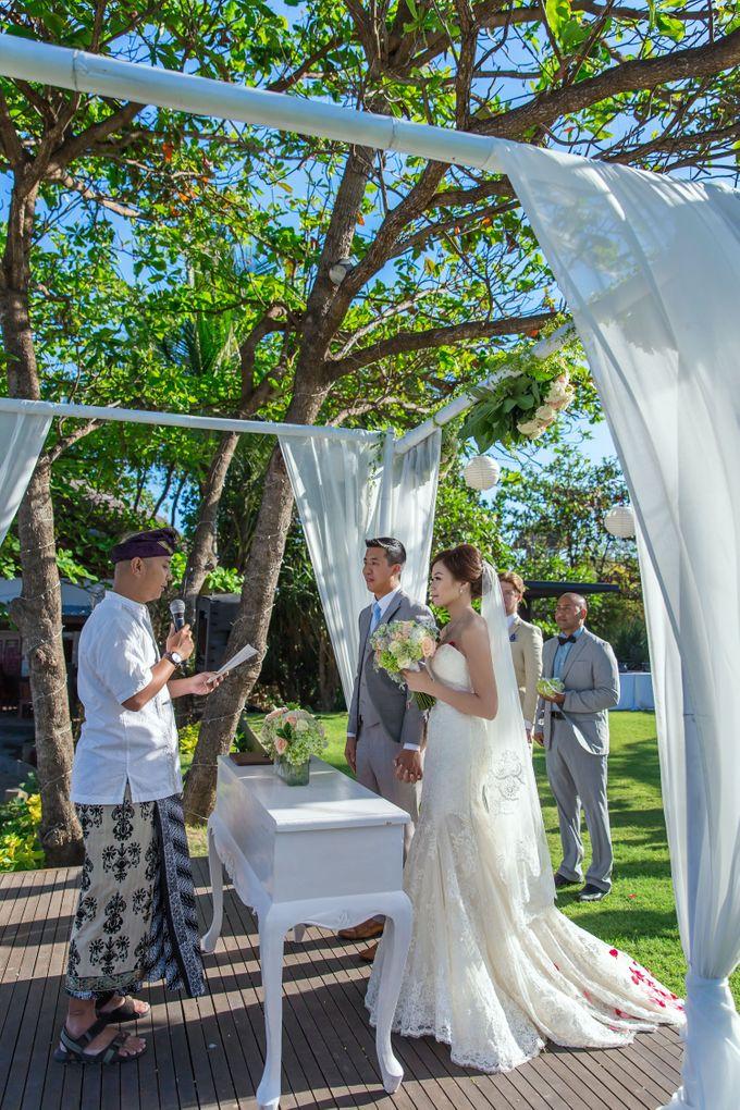 WEDDING ALEX & YITING by Fairmont Sanur Beach Bali - 010