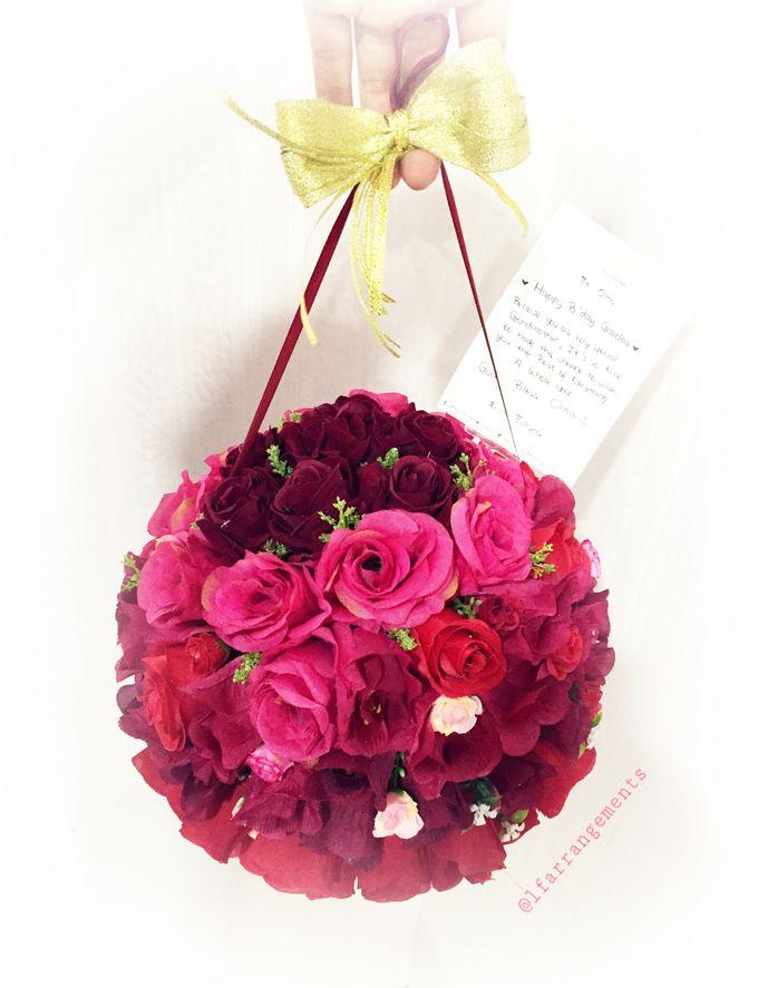 Wedding hand bouquet by Love Flower - 005