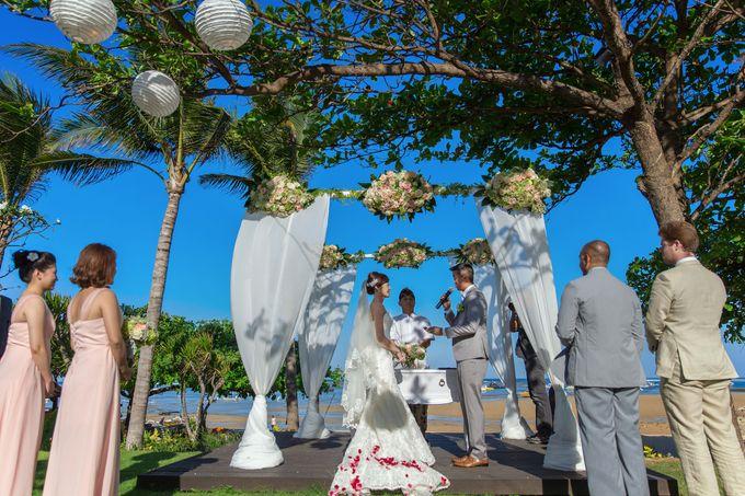 WEDDING ALEX & YITING by Fairmont Sanur Beach Bali - 011
