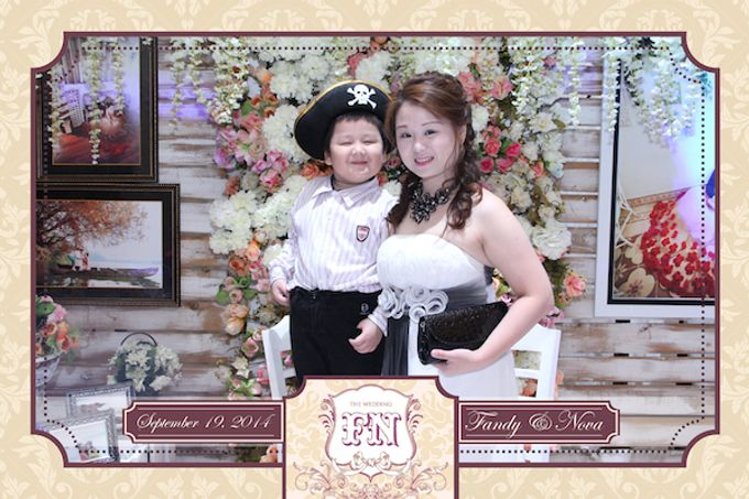 The Wedding of Fandy & Nova by After 5 Photobooth - 003