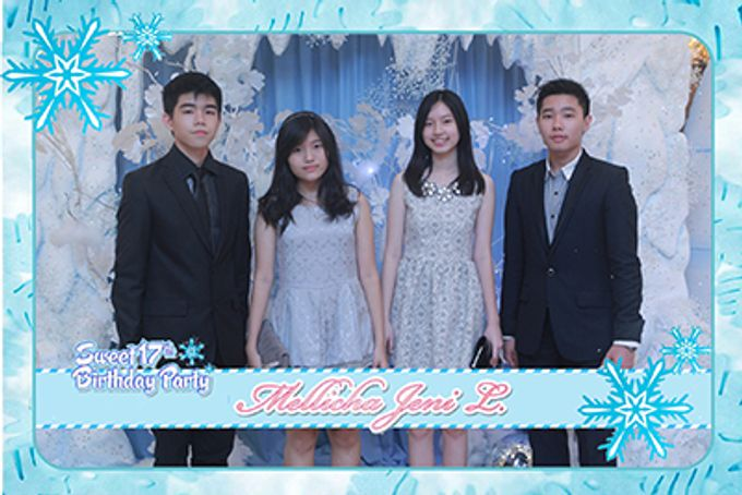 Mellicha Birthday Party by After 5 Photobooth - 021
