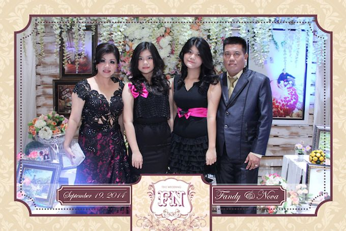 The Wedding of Fandy & Nova by After 5 Photobooth - 004