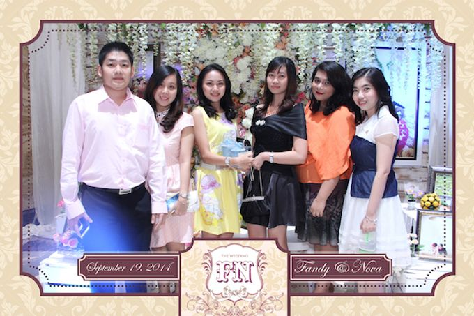 The Wedding of Fandy & Nova by After 5 Photobooth - 005