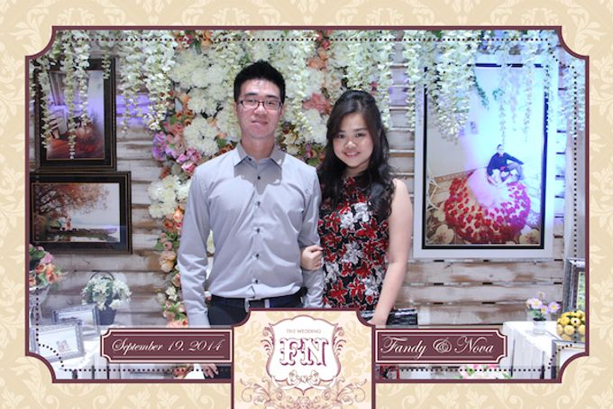 The Wedding of Fandy & Nova by After 5 Photobooth - 006