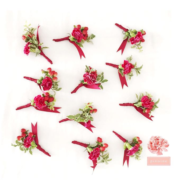boutonniere by Pivoine Flower Shop - 004