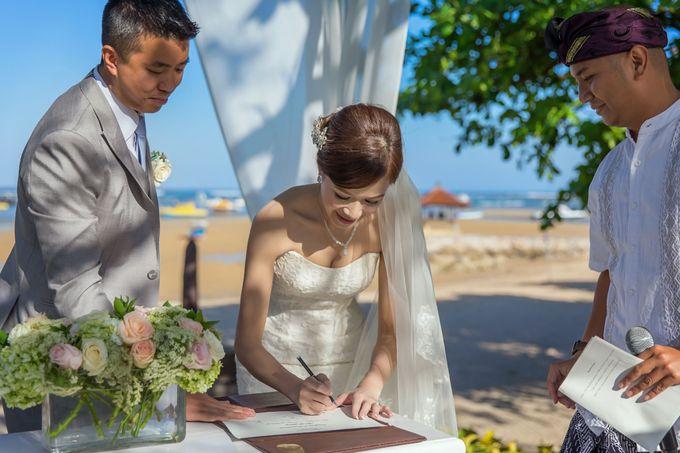 WEDDING ALEX & YITING by Fairmont Sanur Beach Bali - 012