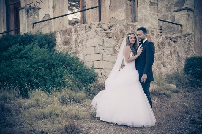 Next day session with the beautiful couple of Nikos & Agapi. by George Ladas Photography - 016