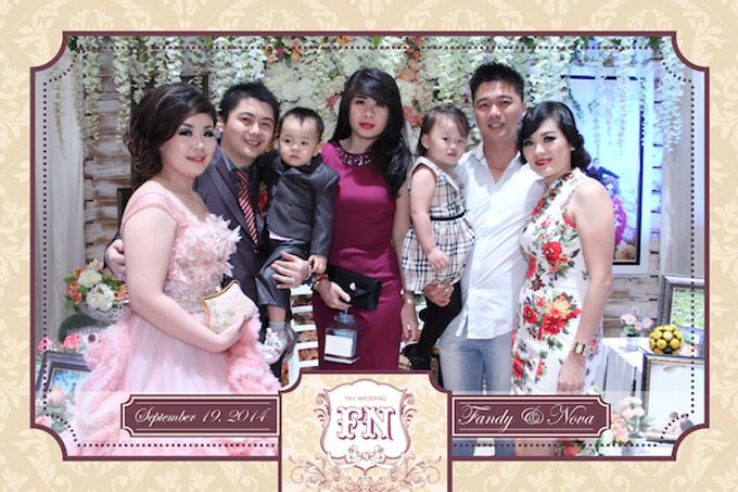 The Wedding of Fandy & Nova by After 5 Photobooth - 010