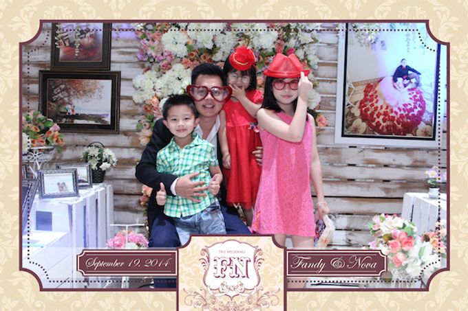 The Wedding of Fandy & Nova by After 5 Photobooth - 011