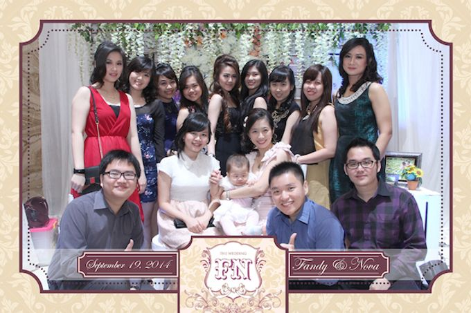 The Wedding of Fandy & Nova by After 5 Photobooth - 012