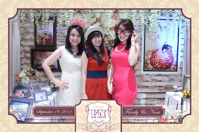 The Wedding of Fandy & Nova by After 5 Photobooth - 013