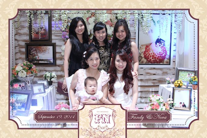 The Wedding of Fandy & Nova by After 5 Photobooth - 014