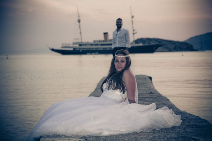 Next day session with the beautiful couple of Nikos & Agapi. by George Ladas Photography - 018