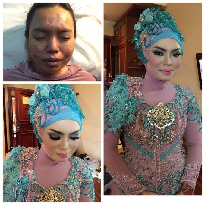 Tambahkan ke board salon ratu bridal by salon ratu samarinda 002