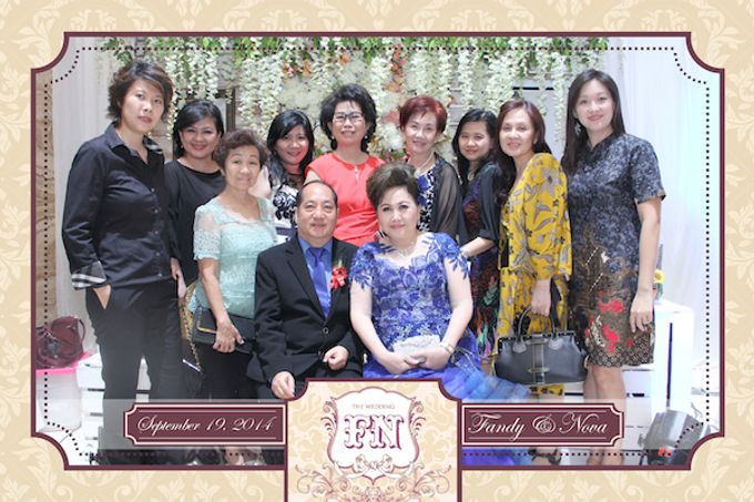 The Wedding of Fandy & Nova by After 5 Photobooth - 015