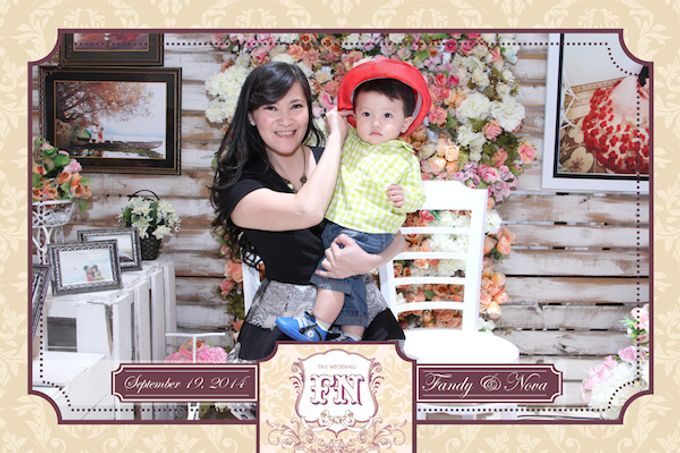 The Wedding of Fandy & Nova by After 5 Photobooth - 016