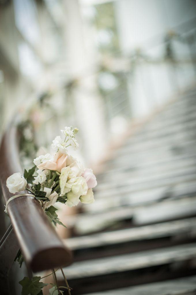 Spectacular Wedding Stairway by Amara Sanctuary Resort Sentosa - 004